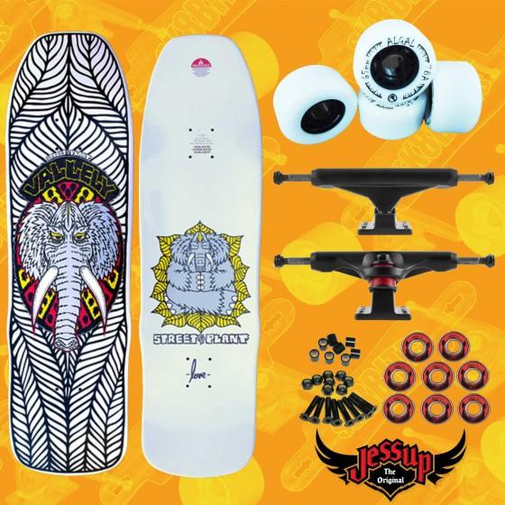"""Madrid Stranger Things Hawkins Lab 10,25""""  Set Up Skateboard Oldschool Deck"""