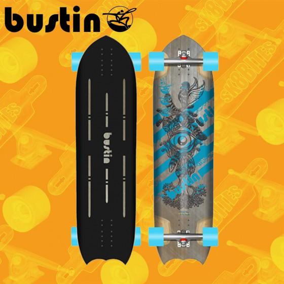 """Bustin Ratmobile 35""""  Tavola Completa Longboard Freeride Slide"""