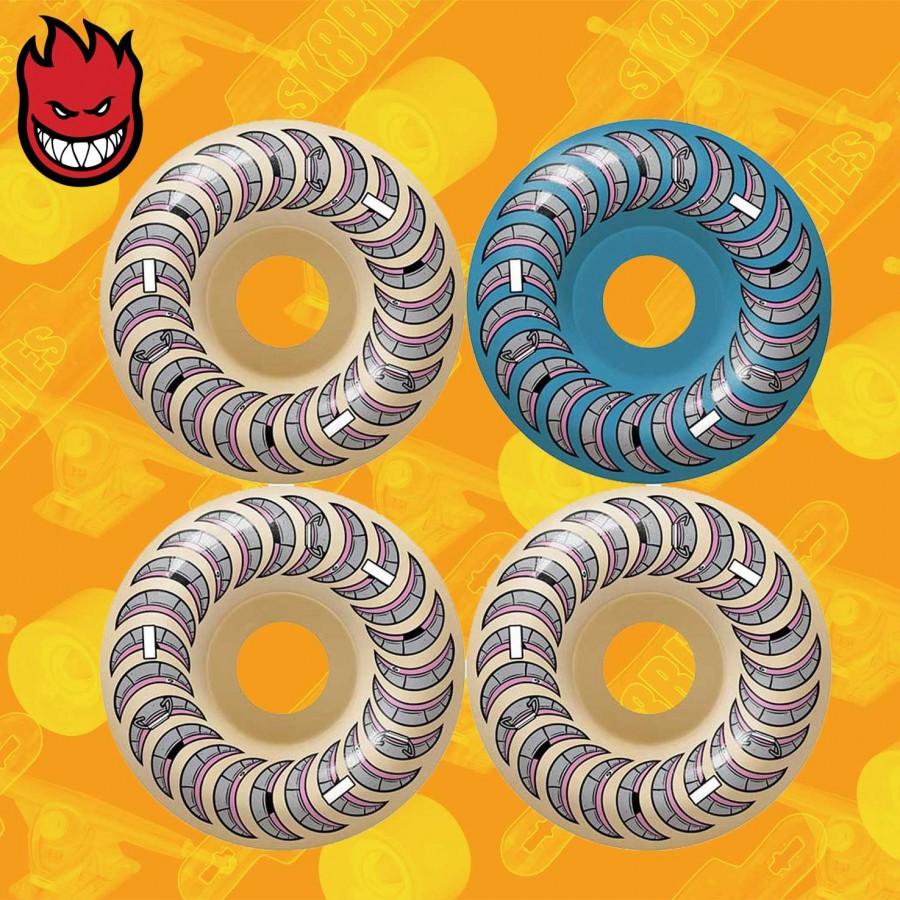 Spitfire Formula Four Tablets Natural 54mm 99a Skateboard Street Wheels