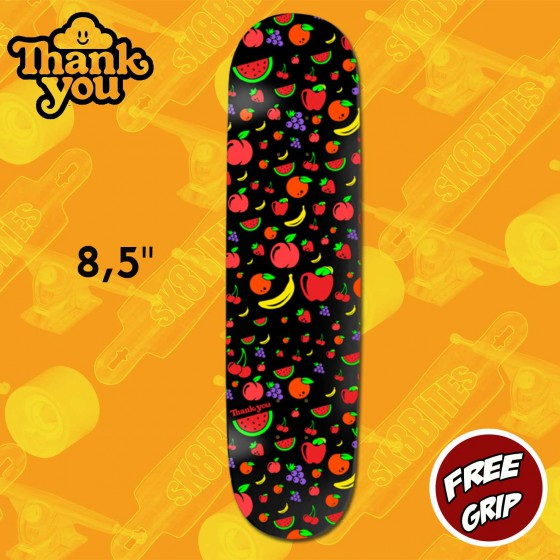 "Thank You Flower Power Torey Pudwil 8,2"" Skateboard Street Deck"