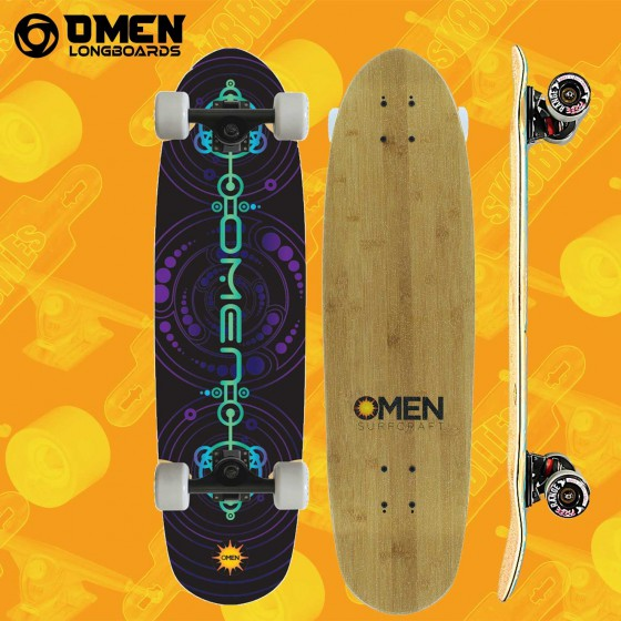 "Omen Loggerhead 33"" Tavola Completa Cruiser Carving"