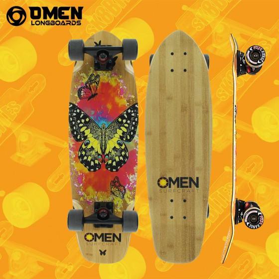 "Omen Crop Circles 33"" Tavola Completa Cruiser Carving"