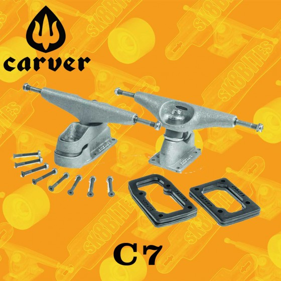 Carver CX 4  Attacchi Longboard Carving Surfing