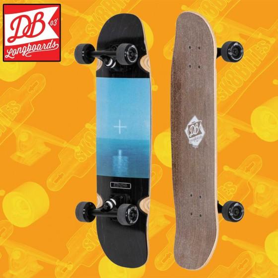 "DB Longboards Mendez Cobra Mini 28,75""Tavola Longboard Completa Cruising  Carving"