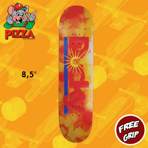 "Pizza Skateboards Ducky Fruit 8.5"" Skateboard Street Deck"