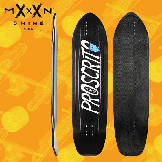 """Kebbek Crafty 36"""" Longboard Freeride Slide Deck"""
