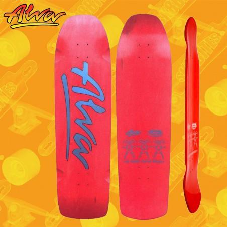 Alva Short Stuff Orange Tavola Skateboard