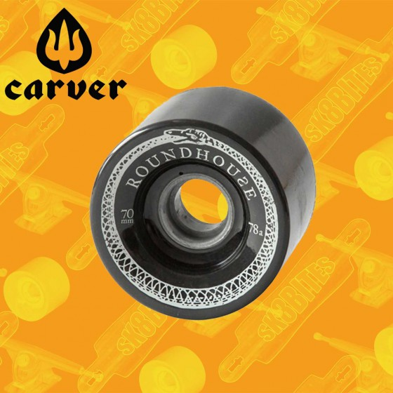 Carver Mag Wheel Roadhouse - 70mm 78a  Longboard Surfskate Cruising Wheels