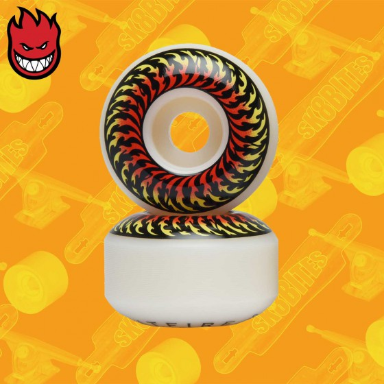 Spitfire Wheels Andrew Allen Formula Four Conical Full Natural 55mm Ruote Skateboard Street