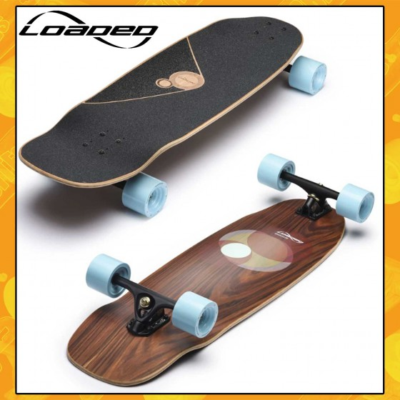 "Loaded Omakase Roe 33,5"" Tavola Longboard Cruising Carving Freeride"