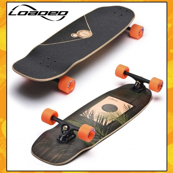 "Loaded Omakase Roe 33,5"" Completa Tavola Longboard Cruising Carving Freeride"