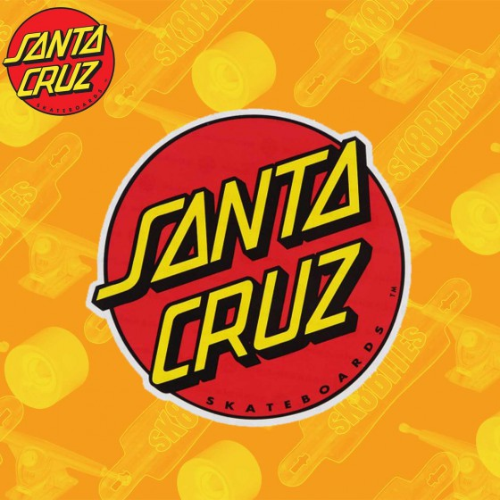 Santa Cruz Classic Dot 8 cm Sticker