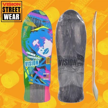 "Santa Cruz Knox Firepit Reissue 10,07"" Skateboard Oldschool Street Deck"