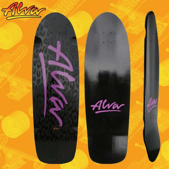 "Alva Short Stuff Green 10"" Tavola Skateboard Oldschool Tavola Oldschool Skateboard Street"