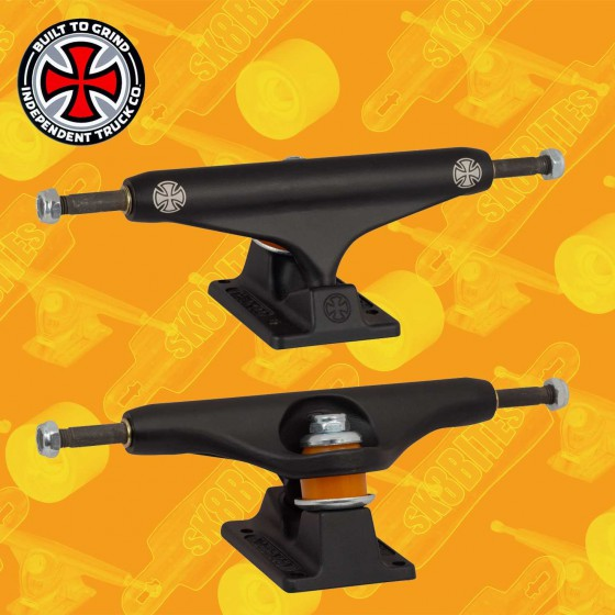 Independent Stage 11 Silver Standard 144mm Attacchi Skateboard Street Trucks