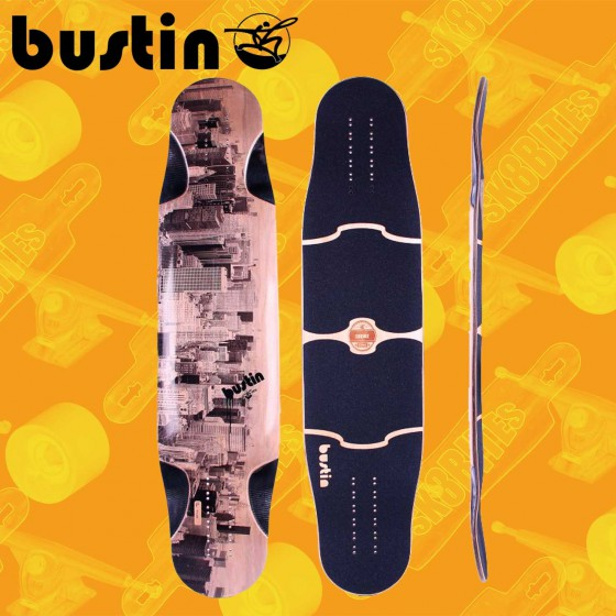 "Bustin Shrike (E)Core Comics 38,3""  Longboard Freeride Slide Deck"