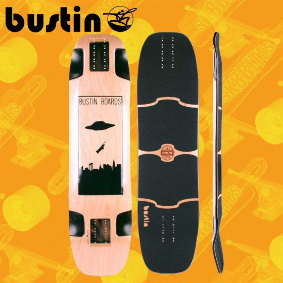 "Bustin William Royce Pro Hollowcore 37,40""  Blue Longboard Freeride Slide Deck"
