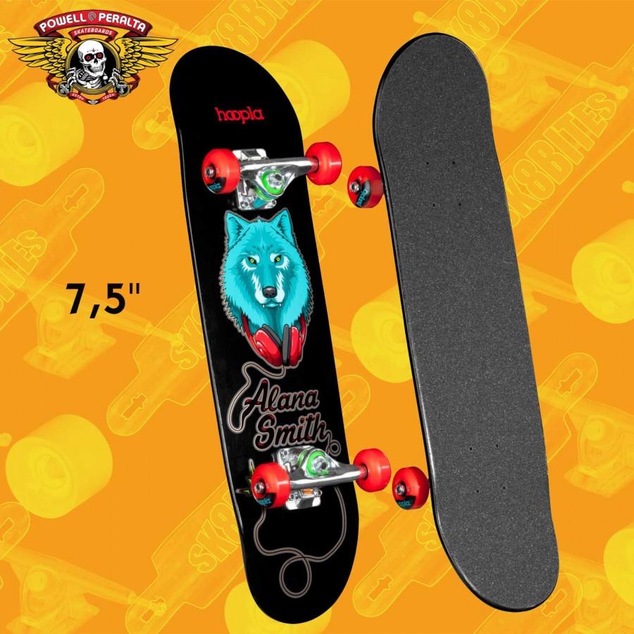 "Santa Cruz Multistrip Sk8 8.25"" Complete Skateboard Street Deck"