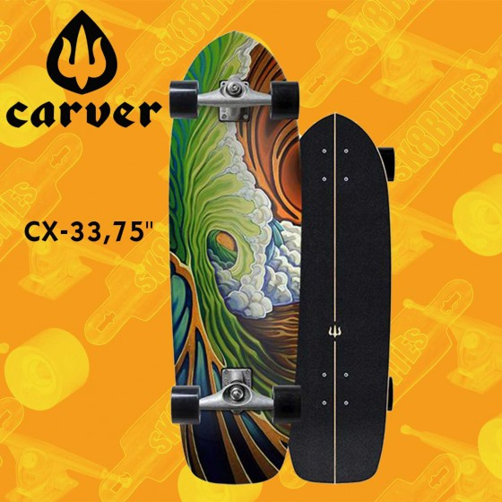 """Carver Knox Quill CX 31,25"""" Surfskate Carving Deck"""