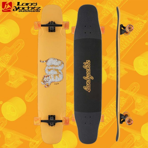 "Landyachtz Stratus Faction 46"" Tavola Longboard Freeride Dancing Freestyle"