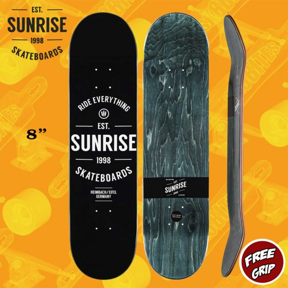 "Sunrise Street Line Deck 8"" Skateboard Street Deck Pool"