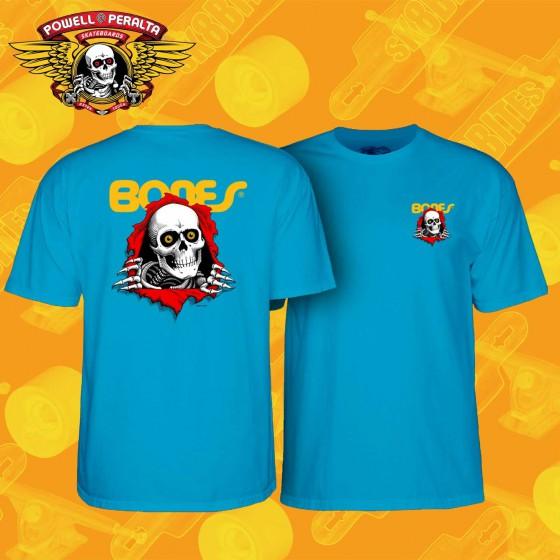 Powell Peralta Ripper Athletic Heater Yellow T-shirt  Maglietta Street Skateboard Streetwear