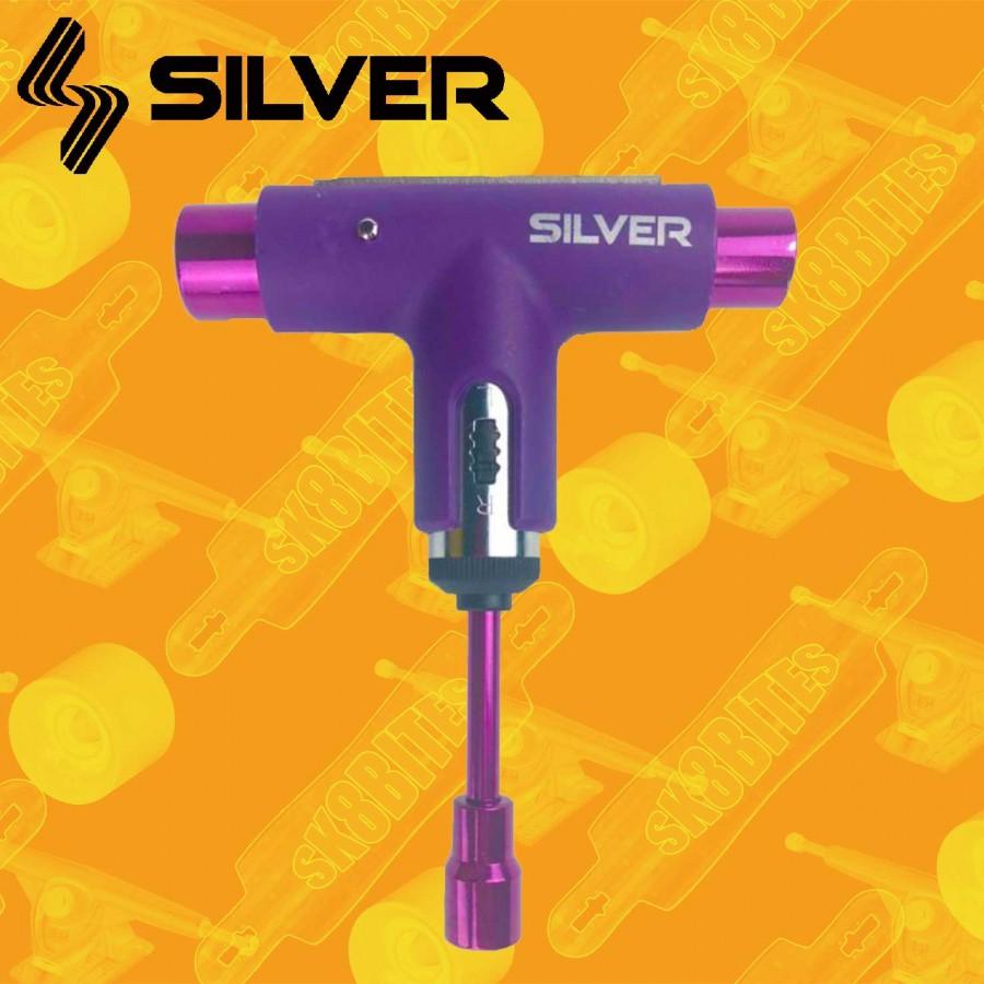 Silver Lager Tool Spectrum Purple