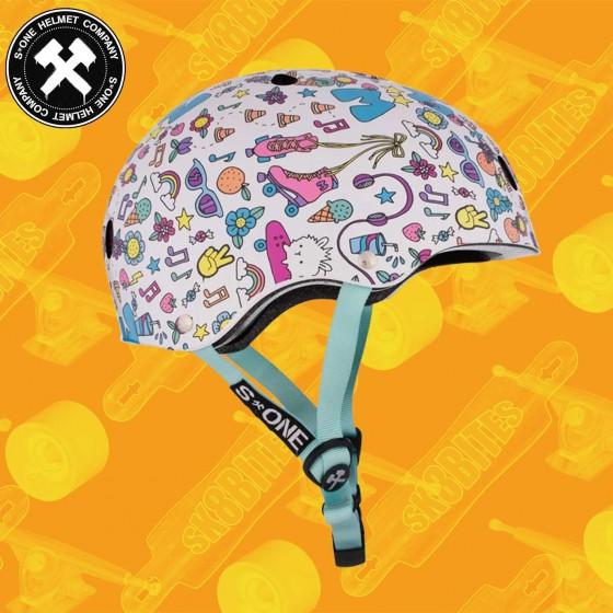 S-One Lifer CSPC Certified Moxi Beach Bunny Skateboard Longboard Roller Helmet