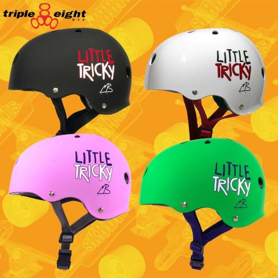 Triple Eight Little Tricky Helmet Skateboard Longboard Roller Helmet