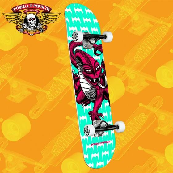 """Powell Peralta Skull & Snake 7.75"""" Complete Skateboars Street Deck"""
