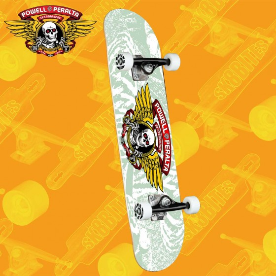 """Powell Peralta Vallely Elephant Yellow 8"""" Complete Skateboars Street Deck"""