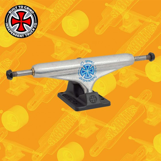 Independent Stage 11 Standard Milton Martinez Silver Black 139mm Skateboard Street Trucks