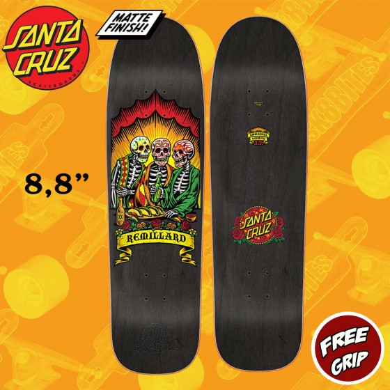 "Santa Cruz Remillard Dine With Me 8.8"" Tavola Oldschool Skateboard Street"