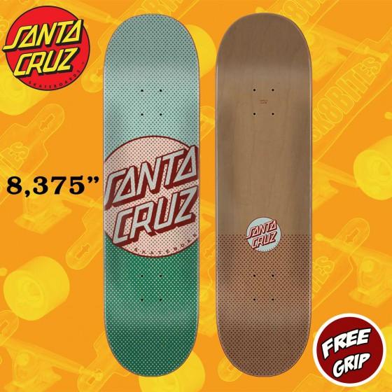 "Santa Cruz Process Dot Process Dot 8.375""  Skateboard Street Deck"