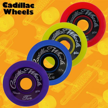Cadillac Classic Two 70mm Longboard Carving Cruising Wheels