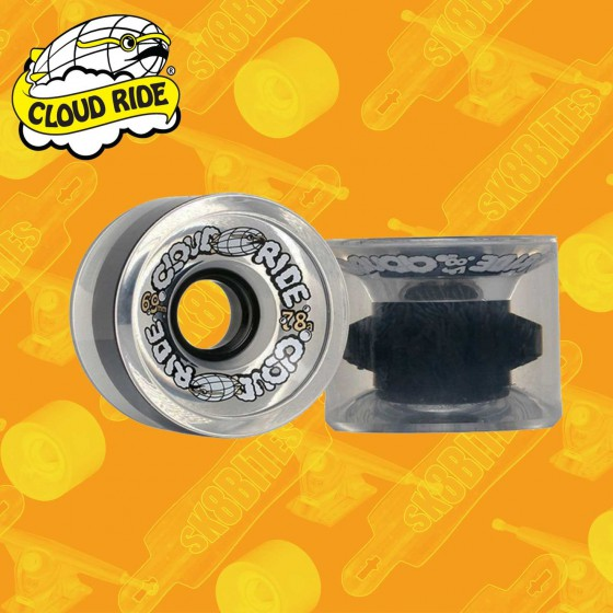 Cloud Ride Cruiser 69mm Clear Longboard Carving Cruising Wheels