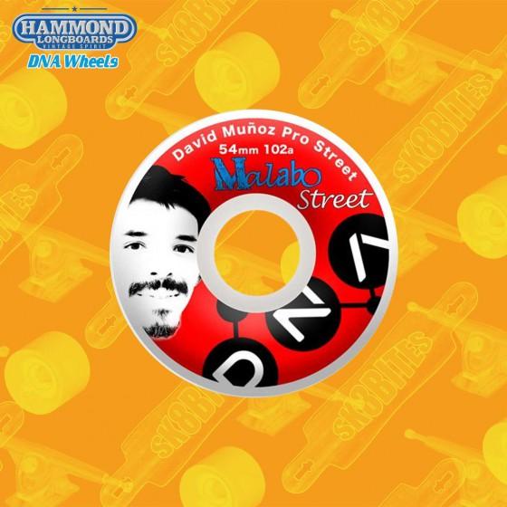 Hammond DNA Malabo David Munoz Pro Park 54mm Skateboard Street Wheels