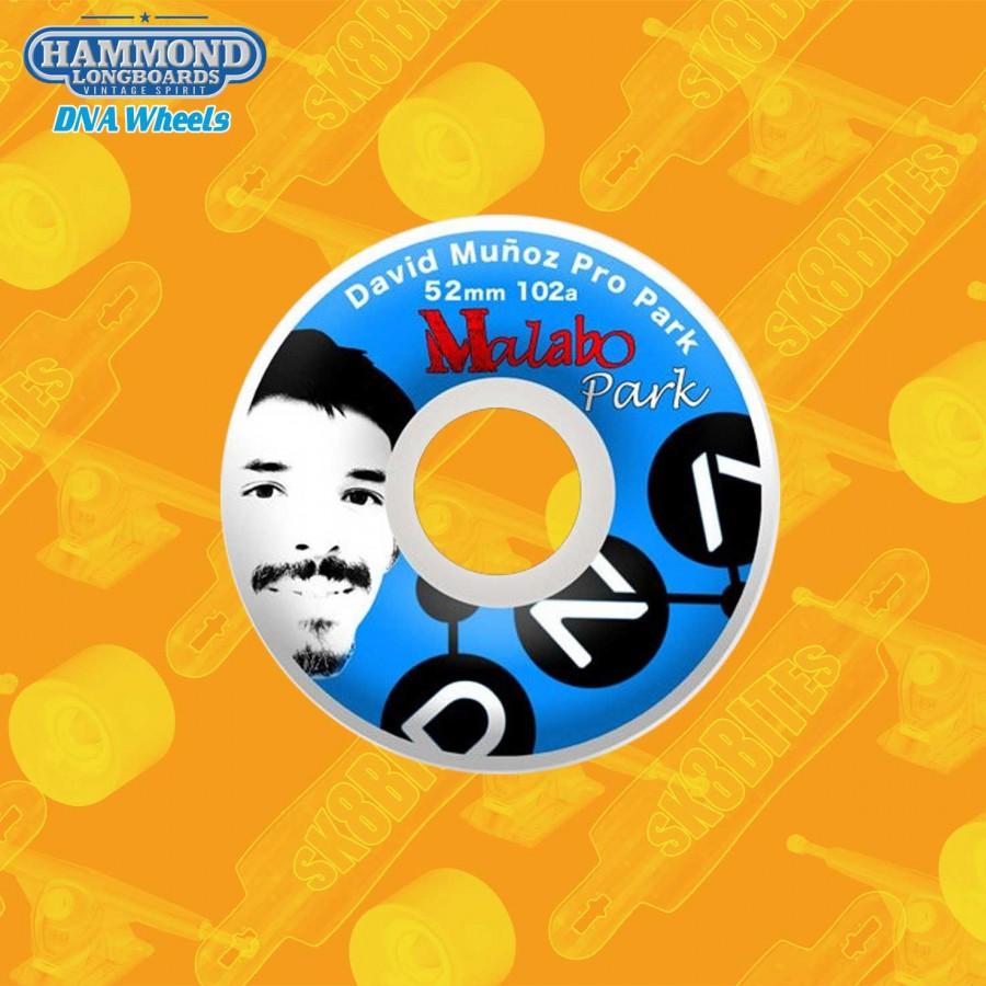 Hammond DNA Malabo David Munoz Pro Park 52mm Skateboard Street Wheels