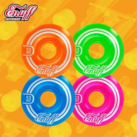 Enuff Refreshers Disco 53mm Skateboard Street Wheels