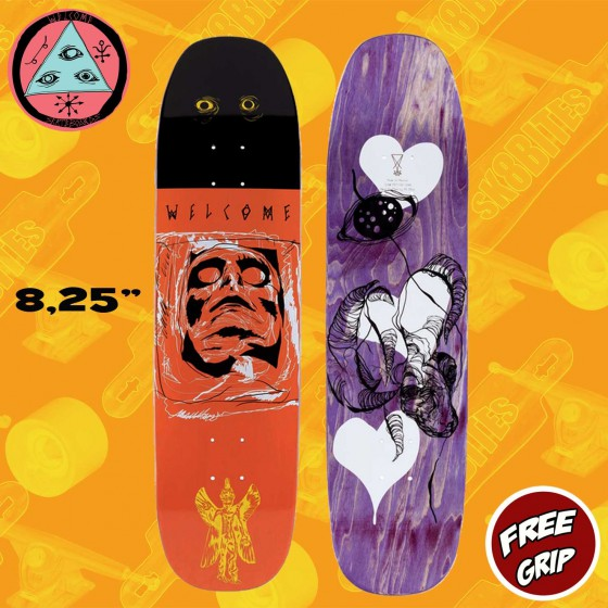 "Welcome Skateboards Pazuzu on Son of Moontrimmer 8,25"" Tavola Skateboard Street"