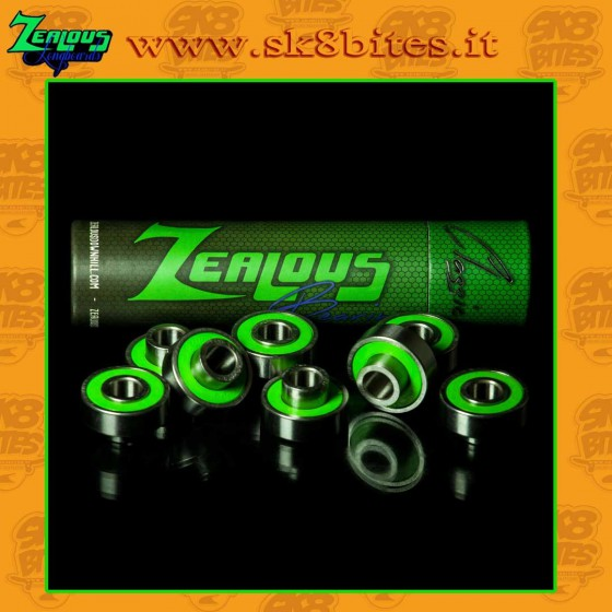 Zealous Bearings Cuscinetti Longboard Freeride Slide Downhill