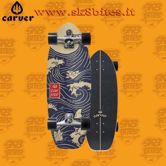 """Carver Snapper C7 28"""" Surfskate Carving Deck"""