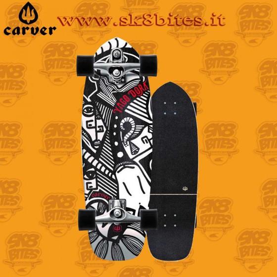 "Carver  Yago Dora Skinny Goat C7 30,75"" Surfskate Carving Deck"