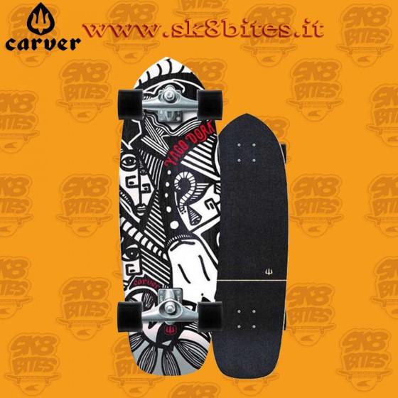 "Carver  Yago Dora Skinny Goat CX 30,75"" Surfskate Carving Deck"