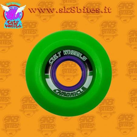 Cult Chronicle 65mm 78a Longboard Slide Freeride Wheels