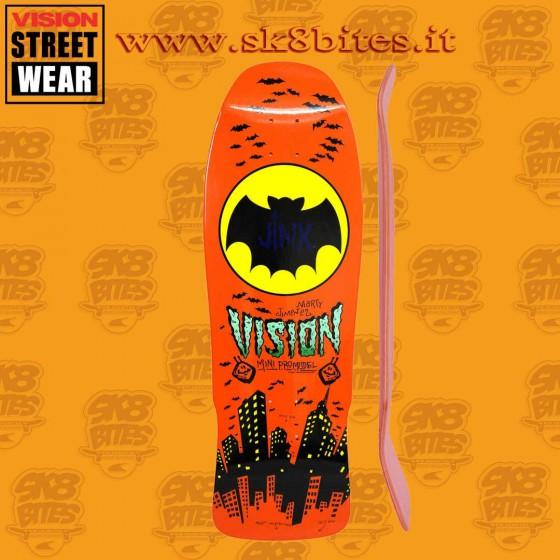 "Vision Jinx Modern Concave Orange 10"" Skateboard Oldschool Street Deck"