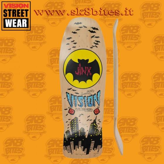 "Vision Jinx Modern Concave Natural 10"" Skateboard Oldschool Street Deck"