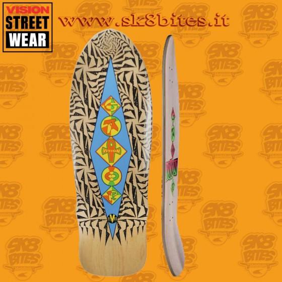 "Vision Gator Ramp 10"" Natural Skateboard Oldschool Street Deck"