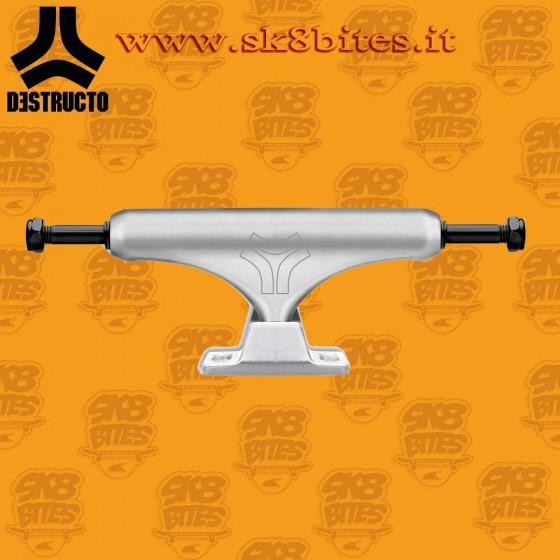"""Destructo D2 Lite Raw Mid 5.5"""" Street Skateboard Trucks"""