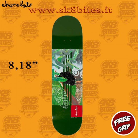"Chocolate Divine Sublime Anderson  8"" Skateboard Street Pool Deck"